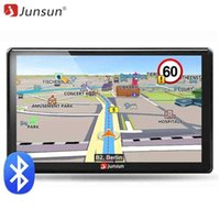 Wholesale car gps online - 2018 New inch HD Car GPS Navigation FM Bluetooth AVIN Navitel latest Europe Map