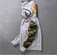 ingrosso cardigan donna-2018 Donne Designer Hoodie Mens Streewear Hoodie Coat Jogger Sportwear Pullover Fleece Felpa Nero Hip Hop Felpa con cappuccio Uomo Abbigliamento