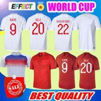 Wholesale England Home Jersey - Thailand Quality 2018 England DELE World Cup Soccer Jersey Home White Away KANE RASHFORD VARDY STURRIDGE STERLING HENDERSON Football Shirts