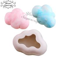 инструменты fondant gumpaste оптовых-Yueyue Sugarcraft 3D Cloud silicone mold fondant mold cake decorating tools chocolate gumpaste mold -SM-894