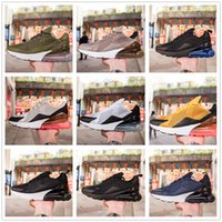 Wholesale Air Stones - High Quality New Arrival Air Cushion 270 Men Women Running Shoes Dusty Cactus White Black Red Sepia Stone Sneakers AH8050