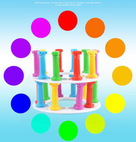 Wholesale fun long - Hot toy new interesting tower collapse suck stick board game punishment children puzzle fun toys WJ 01