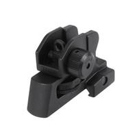 ar 15 montaje al por mayor-A2 trasera vista del hierro para la AR-15 - Picatinny del montaje desmontable ajustable