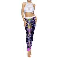Wholesale wholesale quality yoga pants online - Sexy Women Yoga Pants High Waist Print Sports Gym Yoga Running Fitness Leggings Pants High Quality Elasticity Athletic Trouser