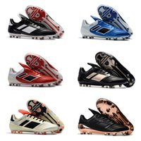 Wholesale Indoor Tennis - Top Originals 2018 Copa 17.1 FG NMen's Indoor Soccer Shoes Cheap Genuine Leather Soccer Cleats Best Quality Football Shoes