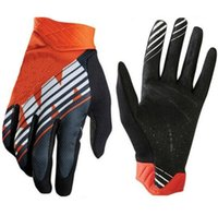 Wholesale professional motorcycle gloves resale online - Best selling KTM MOTO downhill mountain bike men s professional off road motorcycle gloves full finger riding gloves racing