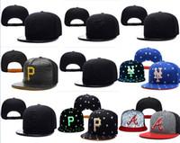 chapéus snapback venda por atacado-Hot Selling Snapback Baseball Baseball Snapbacks Todas As Equipes dos homens Chapéus de Futebol Chapéus de Esportes Homem Chapéu Plana Hip-Hop Caps Milhares de Estilos