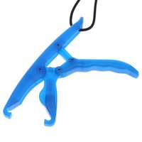 Wholesale lip grabber for sale - 17 cm ABS Plastic Floating Fish Gripper Grabber Luminous Controller Fishing Lip Grip Floating Gripper Fishing Plier Pesca Tool