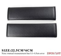 cubierta de asiento de mazda al por mayor-Car Styling Carcasa del cinturón de seguridad para Peugeot Hyundai Mazda para Ford Volvo Jeep Mercedes Smart Emblemas AMG Car-styling