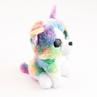 Stuffed Plush Animals Ty Beanie Boos Big Eyes Multicolor Bulldog 10 - 15cm Stuffed  Plush Animals Toys Dolls Child Gift 0ef8b078737e