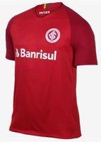 Wholesale rs 18 - new 2018 2019 Internacional RS soccer jersey 18 19 Internacional home jersey N. LOPEZ N. PATRICK D.ALESSANDRO POTTKER Camisa football shirt