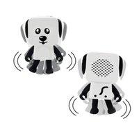 corte universal venda por atacado-Venda quente Mini Super Cut Smart Dança Robô Dog Bluetooth speaker Multi oradores portáteis Bluetooth Novo presente de Natal para Crianças Criança