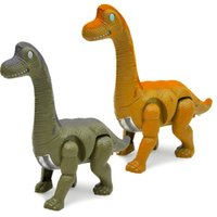 Wholesale raccoon animal - Dinosaur Model Toys Electric Simulation Lighted Walking Animal Model Toy Originality Children Puzzle Parent Child Game hy W