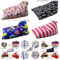 Wholesale plush sofas - Diamond Shape Storage Bean Bag 79 Styles Kids Stuffed Animal Plush Toy Storage Bags Chair Sofa Pouch Toys Kids Handbags OOA4953