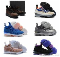 Wholesale acg black - 2018 mens Basketball shoes J 15 ACG Mowabb HWC Hardwood Classics Ashes Graffiti All-Star Shoes 15s Blue Sports Shoes ZOOM size 7-12