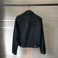 frauen s vintage stil kleidung großhandel-Trend Denim Jacken für Männer Designer Jacke Frauen Vintage Style Selvedge Jean Mäntel Mode Marke Kleidung Denim Mäntel