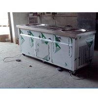 Wholesale metal bar cooler - Free shipment to door USA WH kolice double ice pans with 10 cooling tank roll ice cream machine fry ice cream machine with refrigerant