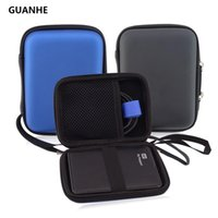 Wholesale bag external disk - GUANHE Carry Case Cover Pouch for 2.5 inch Power Bank USB external WD HDD Hard Disk Drive Protect Protector Bag Enclosure Case