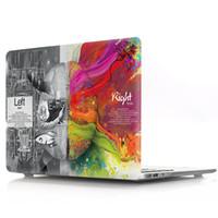 capa rígida de plástico emborrachada venda por atacado-Macbook New Pro 13
