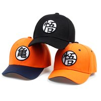 2017 High Quality Cotton Z Goku Baseball Caps Hats For Men Women Anime  Dragonball Adjustable HipHop Snapback cap Hat a748722eb21d