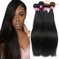 Wholesale Unprocessed Grade Virgin Hair - Grade 8A Mink Brazilian Straight Hair Unprocessed Brazilian Virgin Human Hair Weave Bundles 100% Brazilian Vrgin Hair Straight