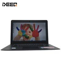 ordinateur le plus rapide achat en gros de-1920X1080P FHD écran 8 Go de RAM 128 Go SSD Windows7 / 8/10 ultra-mince Quad Core rapide ordinateur portable Netbook Notebook Computer
