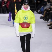hochwertige lebensmittel großhandel-18FW Luxus Europa Buchstaben Gedruckt Hoodies WFP Sweatshirts Mode Männer Frauen Paar Wilson Hohe Qualität Welt Essen Programm