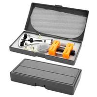 kit de reparación de batería al por mayor-1 Juego de herramientas de reparación de relojes Reloj Quitar cubierta Abridor Relojero Kit Cambiar batería