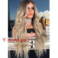 pelucas rubias onduladas al por mayor-Moda 26