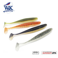 Wholesale soft lures shad for sale - KEY Shad for Perch Bass Fishing at quot Soft Bait Artificial Baitfish Silicone Lure with Salt Flavor for Jig Head Fishing Lures Y18100806