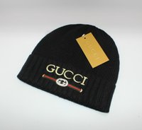 Wholesale acrylic letters hats for sale - Group buy 2018 NEW New female Cute winter hat knitted hat polo ball beads hand hook warm acrylic ladies hat High Quality