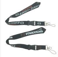 Wholesale keychain phone finder for sale - Group buy MAZDA phone Lanyard ID Keychain Quick Release Miata ZOOm