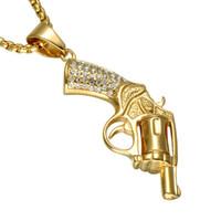 pescoço banhado a ouro venda por atacado-Big JESUS Cristo Peça Cabeça Rosto Pingente Colares de Ouro Cor Jesus Cabeça Hip Hop Jóias para Mulheres / Men60cm Hip hop Uzi Pescoço de Ouro Rosa Banhado