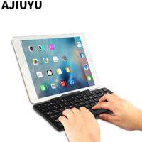 yeni ipad vakaları toptan satış-İPad 9.7 inç Için Bluetooth Klavye Yeni 2017 ipad Hava 2 Air2 Hava 1 5 6 Tablet PC Kablosuz fare Bluetooth klavye Kılıf
