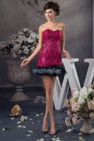 Wholesale Homecoming Dresses Zuhair Murad - free shipping 2018 new design zuhair murad sweetheart formal winter mini custom size color special occasion lace Cocktail Dress