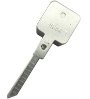 escravo venda por atacado-Lishi HU64 Escravo Chave Blade para 2 em 1 Fechadura Da Porta Do Carro Pick Decoder Desbloquear Ferramenta de Bloqueio Picaretas