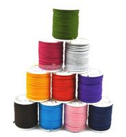 shamballa knoten großhandel-10 Rollen Chinesisches Knotting Cord Nylon Shamballa Makramee Faden 1mm