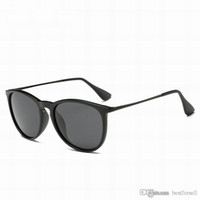 4c0e83c5dd Moda gafas de sol clásicas para hombres y mujeres de marca Vintage Marco de  metal Diseñador de gafas de lujo Negro mate leopardo gafas de sol con  estuches