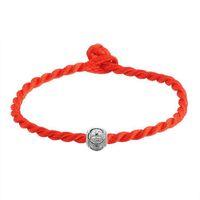 Wholesale christmas rhinestone transfers - 2018 Red Thread Bracelets Simple Transfer Beads Bracelet Accessories Bracelet String Jewelry Lucky Bracelets Gifts for Women
