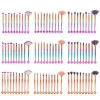 Wholesale brow concealer online - MAANGE Makeup Brushes Set Soft Eyes Shadow Brow Blush Powder Lip Concealer Blending Cosmetic Make Up Brush Beauty Tool Kit