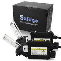 xenon-kit 881 großhandel-Safego 55W verstecktes Xenonlicht-Kit H7 H4 H1 H3 H8 H9 H10 H11 H13 880 881 H27 9004 9005 9006 verstecktes Umrüstkit 4300K 6000K 8000k