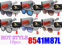 Wholesale sexy ladys fashion - 10 New Style Brand Ladys Sunglasses Womens Best Quality Fashion Chris Sunglass 6 colors HOT Sunglasses Sexy sunglasses beach street styles