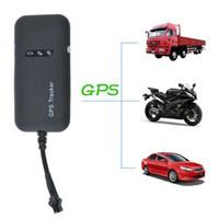 rastreador de mini vehículo en tiempo real al por mayor-Envío Mini Tracker GPS GSM GPRS Localizador de DHL UPS libre al por mayor que sigue el dispositivo del coche del vehículo tiempo real global