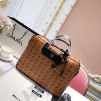 ingrosso borsetta per le donne-nuova moda uomo e donna lettera stampa valigetta per il tempo libero borsa tracolla a tracolla