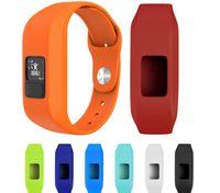 Wholesale wrist watch holders resale online - For Garmin Vivofit JR Vivofit Replacement Silicone Holder Wrist band Watch Strap JUNIOR Tracker Watchbands Wriststrap