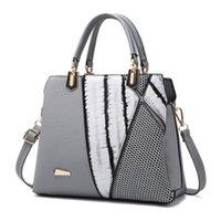 Wholesale Korean Bags Black Tote - Female bag 2018 new bag female Korean version of the stereotypes sweet fashion handbag Messenger shoulder bag