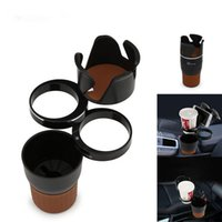 Wholesale interior glass - Multifunction Practical Car Auto Sun Glasses Drinking Cup Car Phone Holder Coins Keys Phone Interior Extra Space Durable ABS HOT