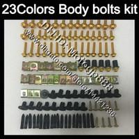 Wholesale Honda Cbr 929 Body Kit - Fairing bolts full screw kit For HONDA CBR929RR 00 01 CBR900RR CBR 929 RR 900RR CBR929 RR 2000 2001 Body Nuts screws nut bolt kit 23Colors