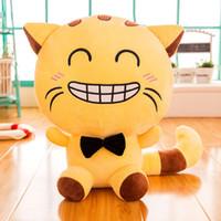 travesseiros de gato grande venda por atacado-New Big Cat Boy recheado Toy grande travesseiro boneca do dia dos namorados presente, boneca bonito, lindo presente