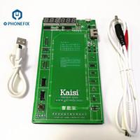 tableros de carga de la batería al por mayor-FIXPHONE Nueva tarjeta de activación de carga rápida Kiaisi K-9208 incorporada para iPhone 7 7P 6S 6SP 6 6P 5 Huawei Xiaomi Samsung Circuit Test